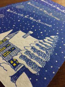 活版印刷クリスマスカード3